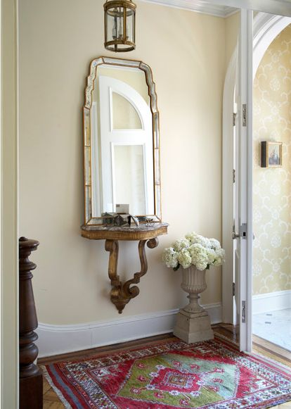 Open Concept Foyer Decorating Ideas : Welcoming design ideas for small entryways