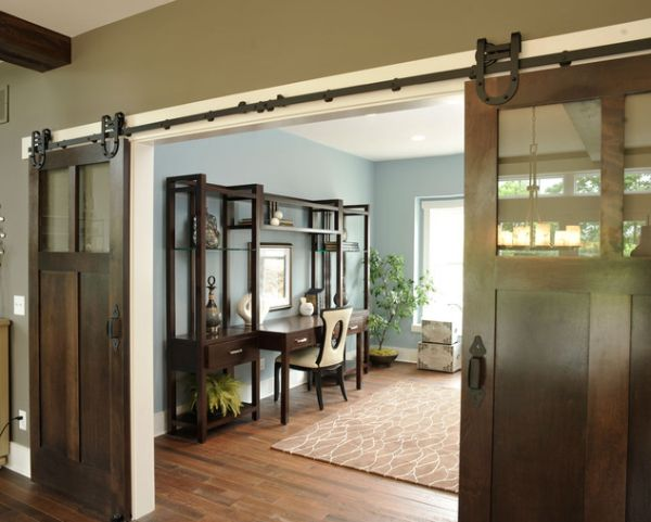 Interior And Elegant Sliding Doors View