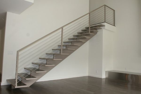 10 Steel Staircase Designs Sleek Durable And Strong .