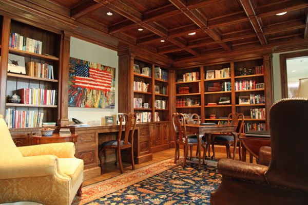 Five Tips For A Traditional Style Library