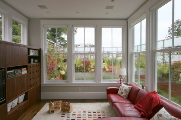 Large Living Room Window Interesting How To Decorate A Living Room With Large Windows 2017