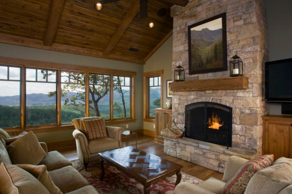 Fireplace and woodstove designs that really heat things up Small living rooms with fireplaces