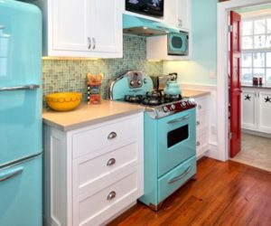 Eye-catching kitchen appliances, a fun and colorful way of standing out
