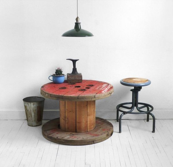 Wooden Cable Spool Tables Diy Projects And Ideas
