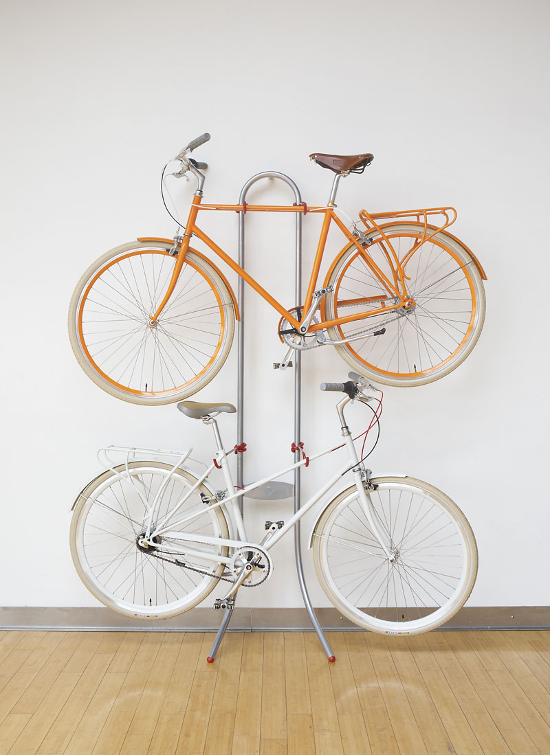 Uncategorized Leaning Bike Rack take your bike off the floor with these ingenious racks and hangers two wall mounted stand