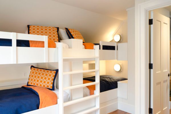 Compact Bunk Beds 22 bunk beds for four, a space-saving solution for shared bedrooms