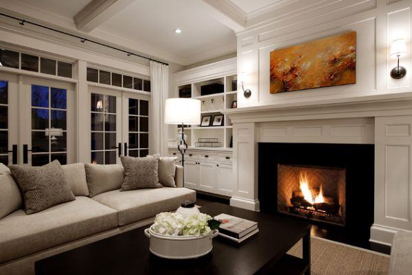 White Living Room Traditional 125 living room design ideas: focusing on styles and interior