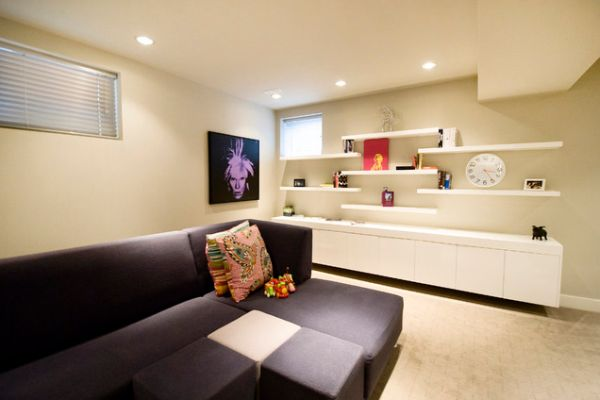 View In Gallery. In A Minimalist Living Room Décor ...