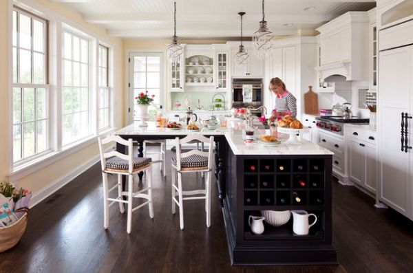 Kitchen Island No Top 30 kitchen islands with tables, a simple but very clever combo