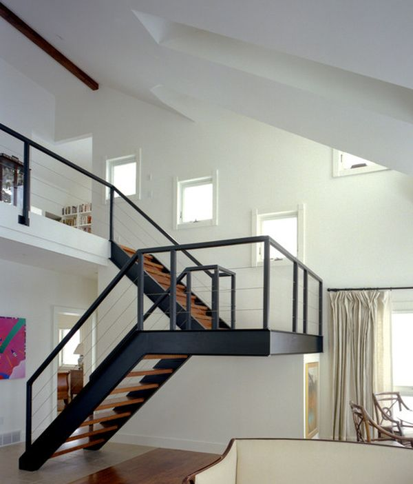 10 steel staircase designs sleek durable and strong - Staircase design images ...