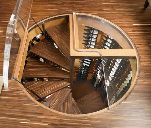 Delightful Modern Cellar Design.