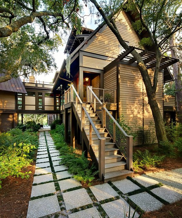 View in gallery & Modern pathway design ideas to increase the value of your home
