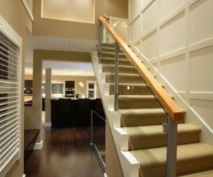 Captivating ... How To Maximize A Staircase Wall Design