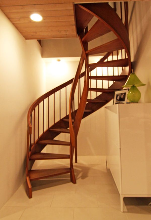 Beautiful View In Gallery. Spiral Staircase ...