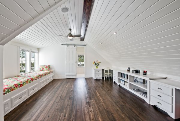 Wooden Attic Ceilings Advantages And Design Ideas