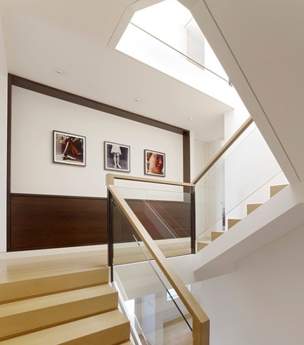 Beautiful View In Gallery Modern Staircase Landing ...