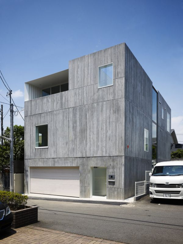 20 unusual japanese houses for those who love the culture - Takanawa house by o f d hiroyuki ito ...