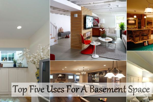 Tiny Home Designs: Top Five Uses For A Basement Space