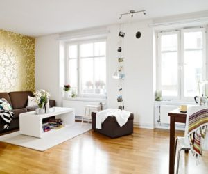 A small flat with a difficult layout and great decorating solutions