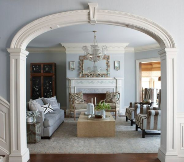 arch design for living room.  Beautiful archway designs for elegant interiors