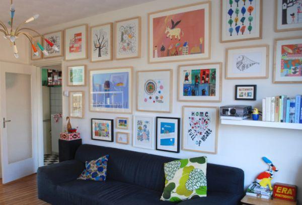 Art gallery wall variations