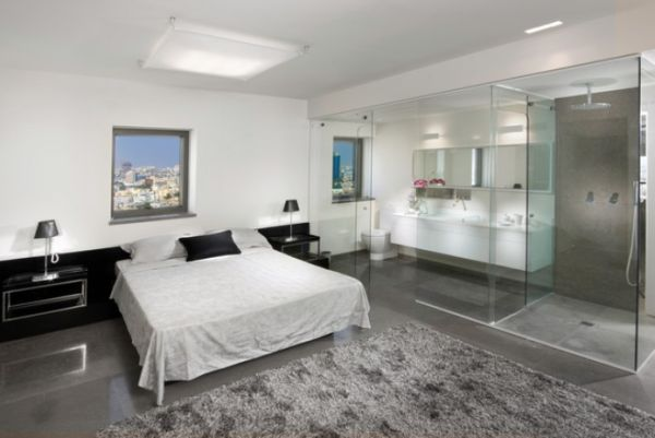 All In One Room bedroom and bathroom 2 in 1 suites – clever combos or risky designs?