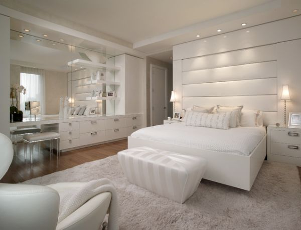 view in gallery - White Bedrooms