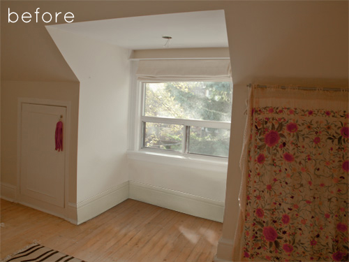 A very beautiful and relaxing window nook makeover