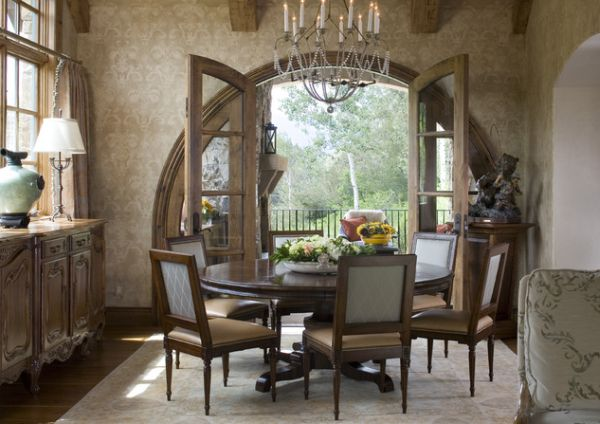 13 Cozy And Inviting Country Style Dining Rooms