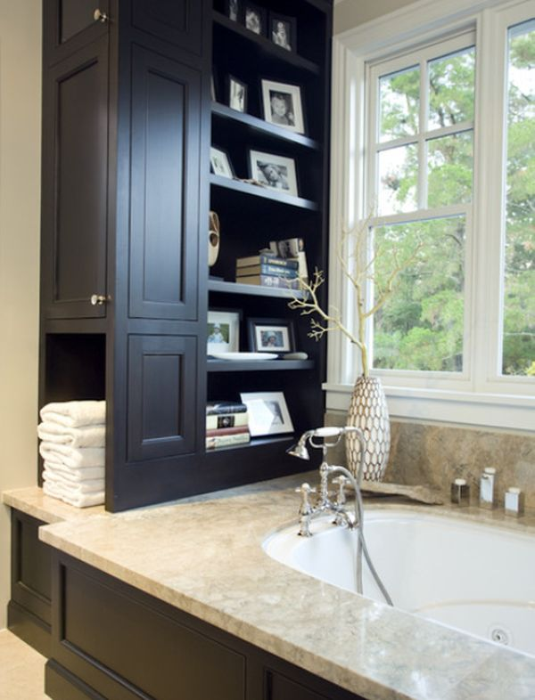 small bathroom storage small bathrooms with clever storage spaces 31293