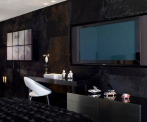 Using black as the main color for your interior décor