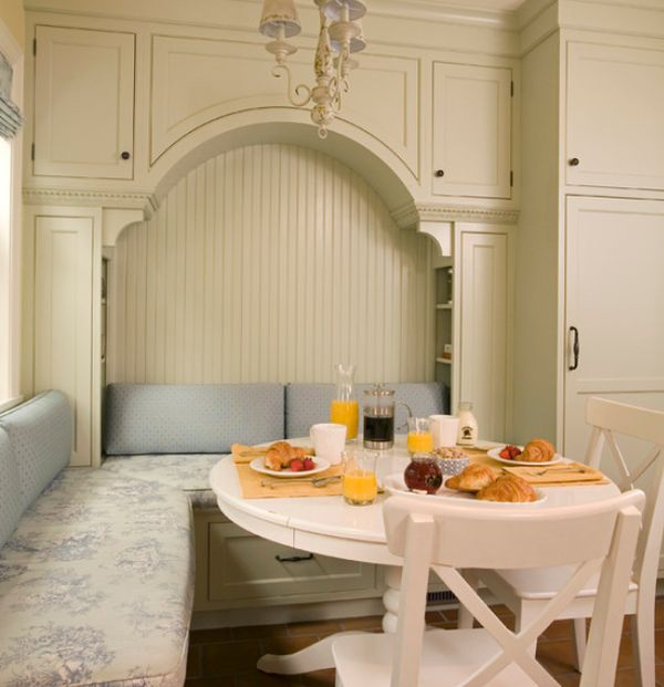 13 cozy comfortable and delightful breakfast nooks for the kitchen - Kitchen corner nooks ...