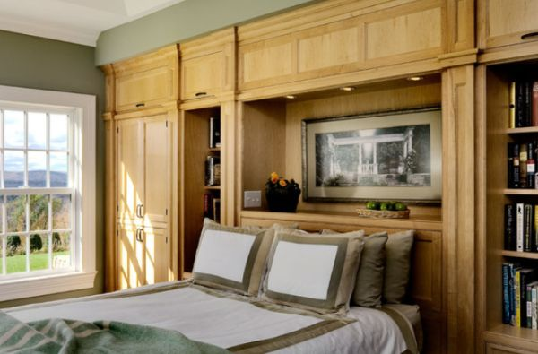 bedroom furniture built in. View In Gallery Traditional Bedroom Furniture Built Homedit