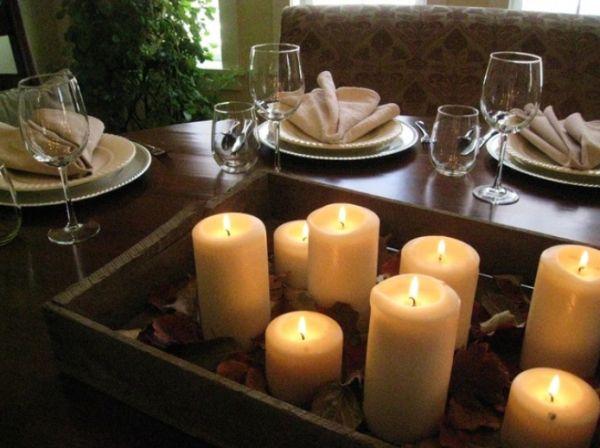 Centerpiece ideas for christmas dinner