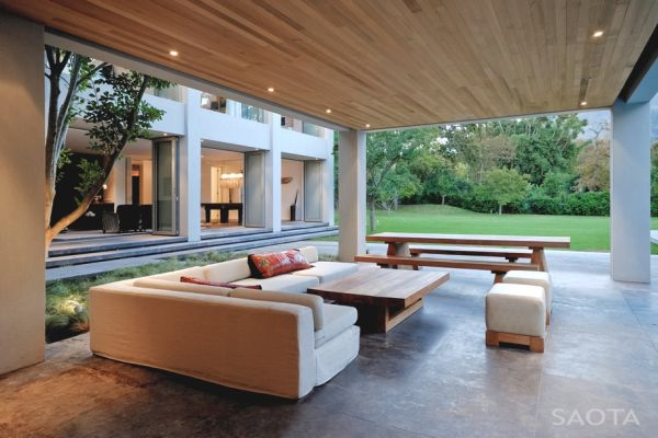 A Stunning Contemporary House In Cape Town By Saota