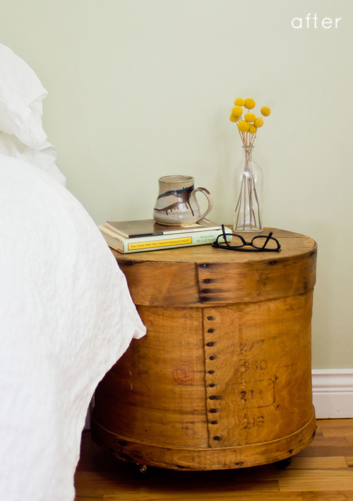 Unusual Bedside Cabinets add a little charm to your bedroom with a unique diy bedside table