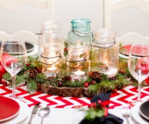 5 Centerpiece Ideas for Christmas Dinner