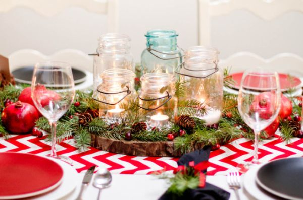 Christmas Dinner Decorations 5 centerpiece ideas for christmas dinner