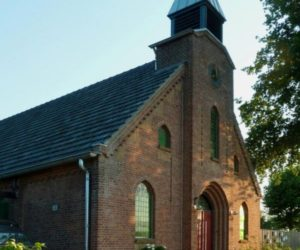 Historical church turned into a private home in The Netherlands