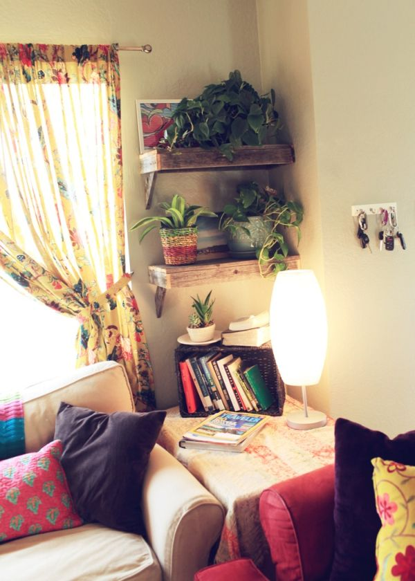 Home Corner Decoration Ideas Part - 31: 25 Ways Of Including Indoor Plants Into Your Homeu0027s Décor