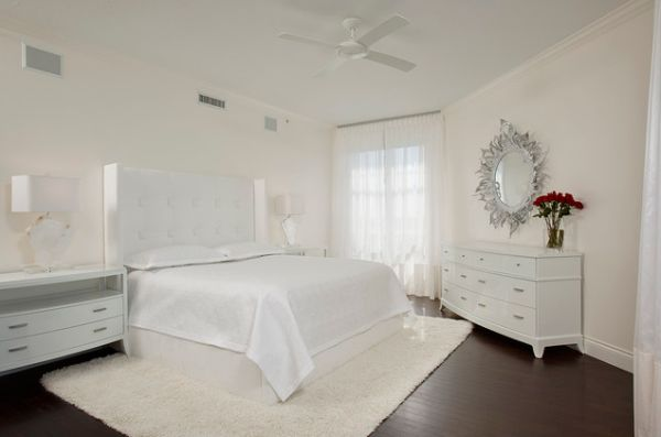 . White bedroom design ideas  Simple  serene and stylish