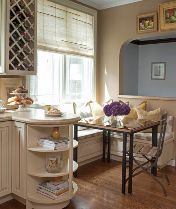 13 Cozy Comfortable And Delightful Breakfast Nooks For The Kitchen