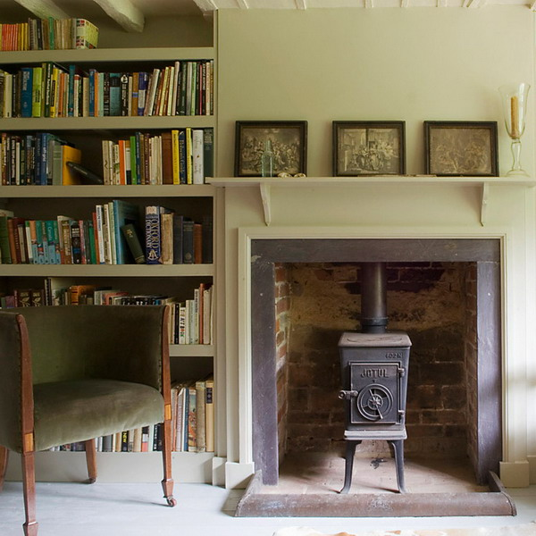 25 classical fireplace designs from british homes for British home design