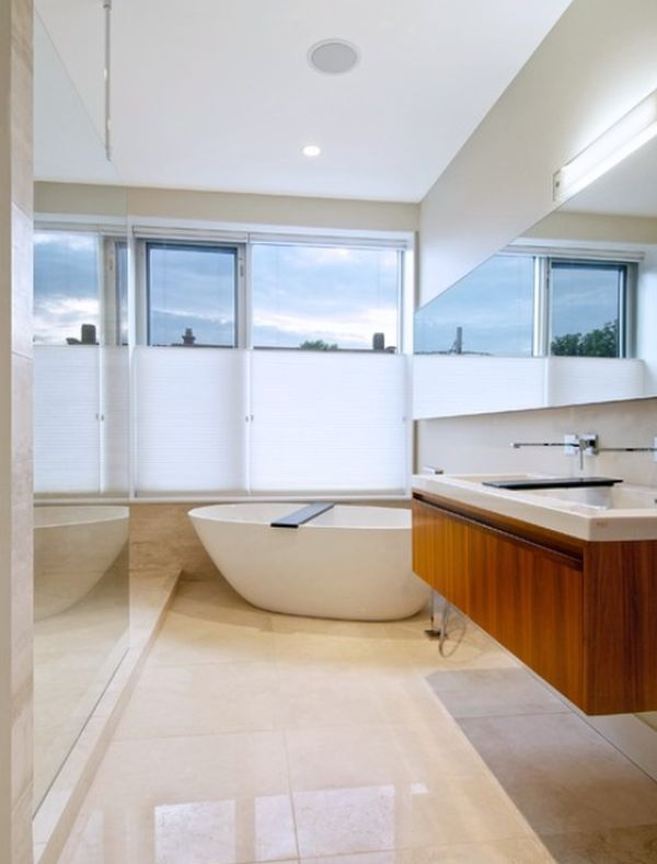View In Gallery Bright Bathroom ...