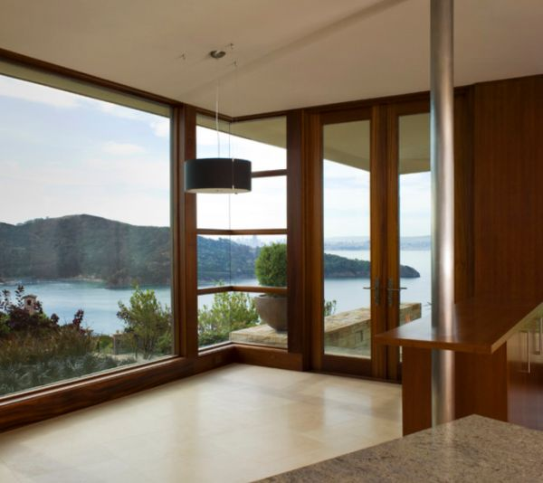 Floor to ceiling windows the key to bright interiors and Window styles for contemporary homes
