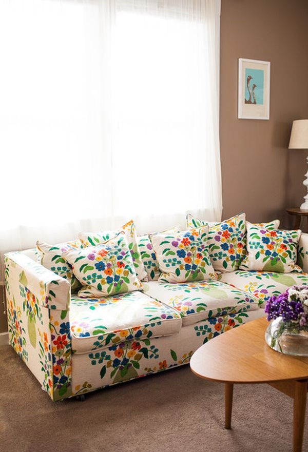 Not Your Grandmas Floral Sofa