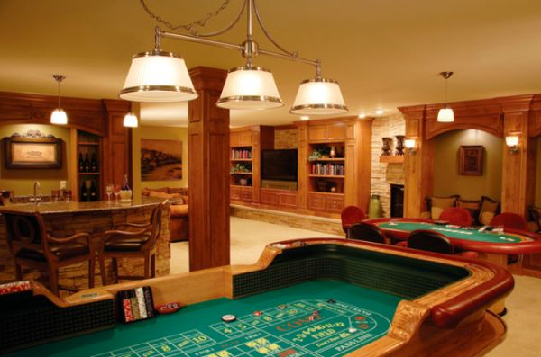 Top Five Uses For A Basement Space - Basement game rooms