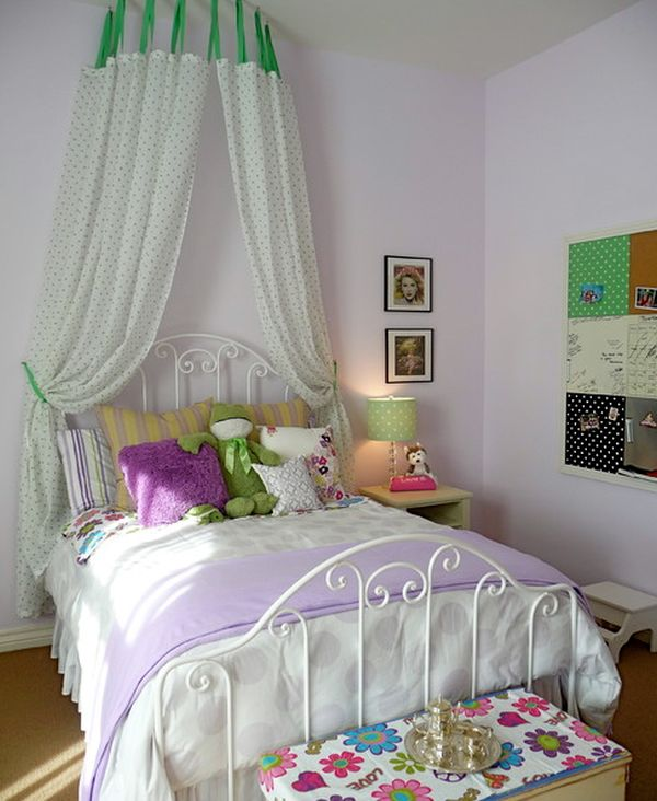 View ... & 15 Stylish chic and sophisticated canopy beds for girls