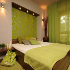 green bedroom design. Fresh and relaxing green bedroom designs ideas 28 Green And Brown Decoration Ideas