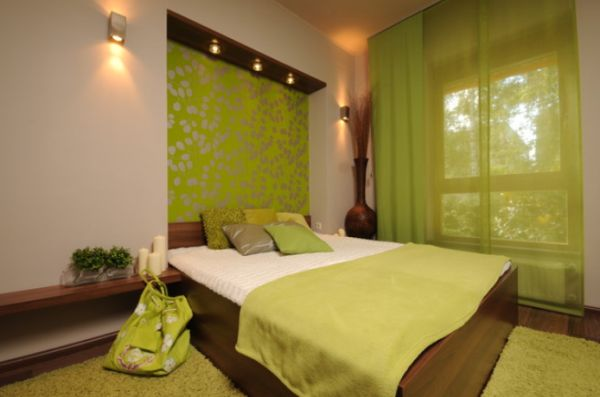 Perfect Fresh And Relaxing Green Bedroom Designs And Ideas